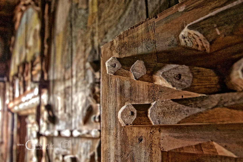 Holz wohin man schaut