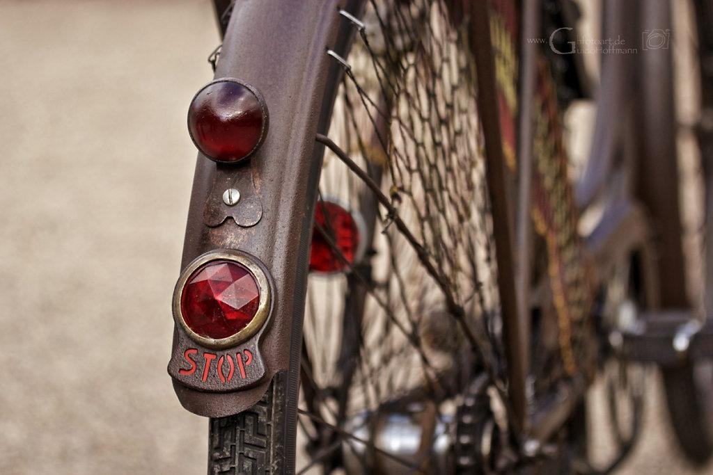 ...Fahrräder damals